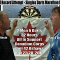 Can Two Canadians Claim the Darts World Record for Longest Match Ever Played?